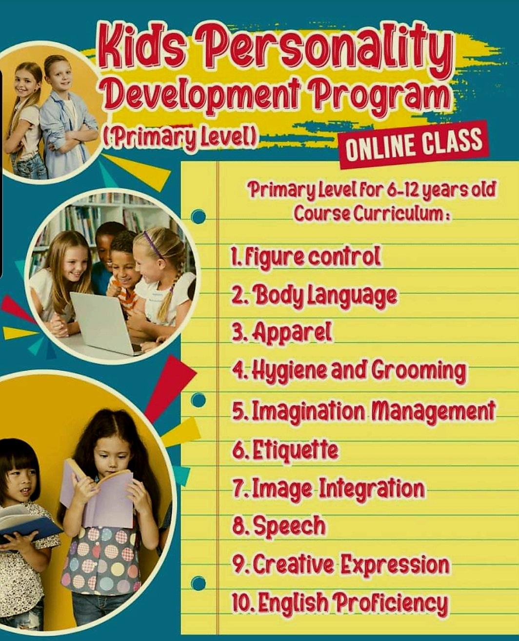 KIDS Personality Development Program By F.I.G. Image Gateway
