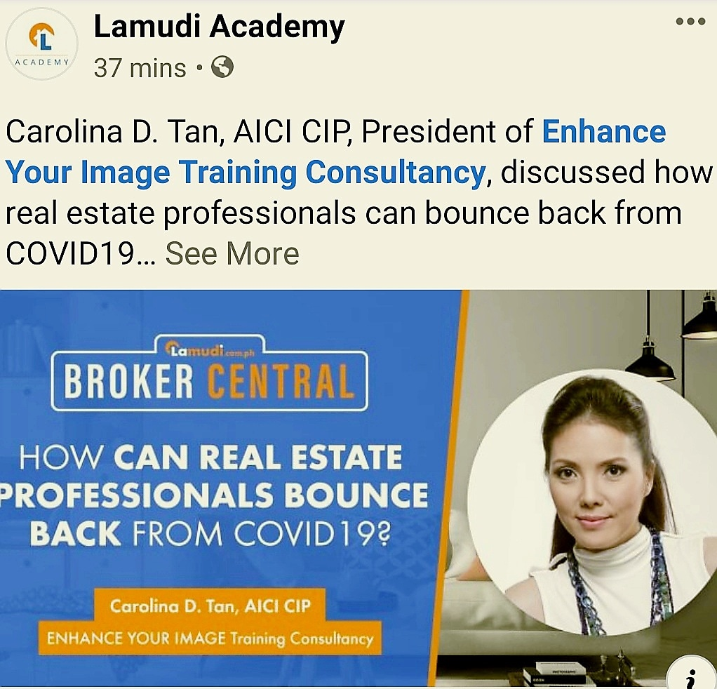 Lamudi Academy Journal: Bouncing Back from Covid-19 by Carolina D. Tan