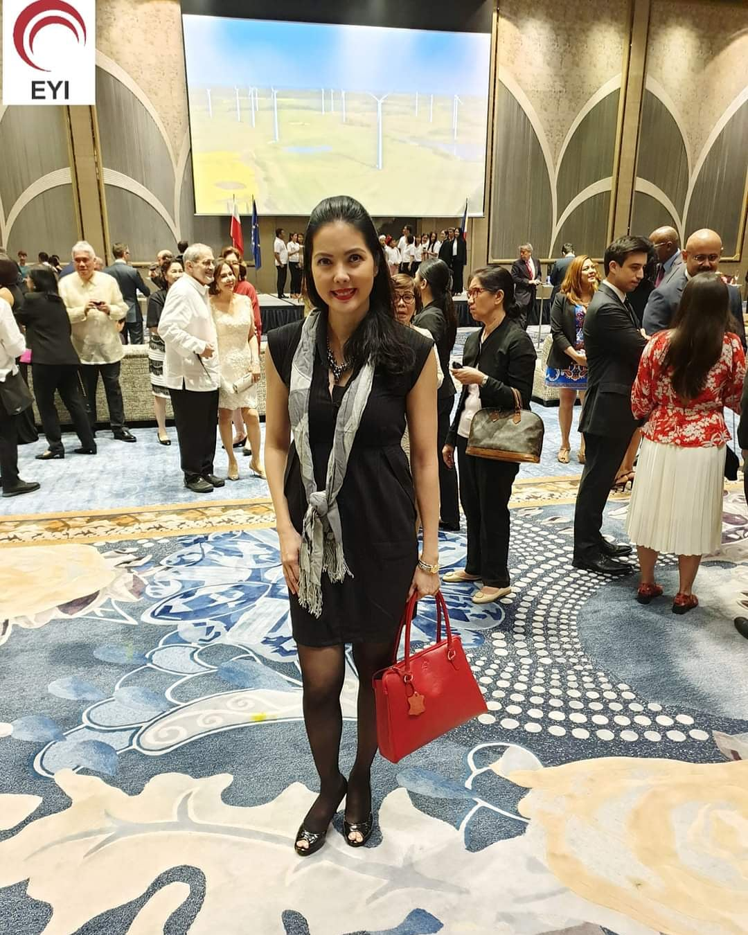 Networking A Room at Diplomatic Events