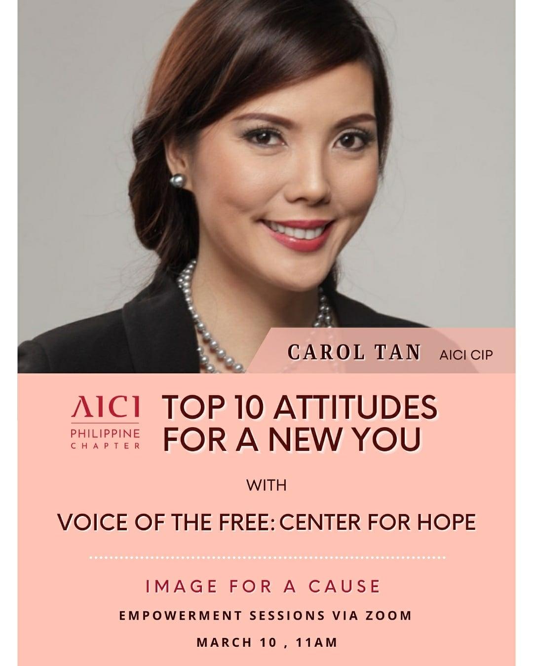 Top 10 Attitudes For A New You
