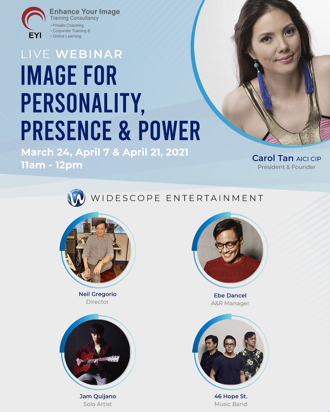 IMAGE FOR PERSONALITY, PRESENCE & POWER