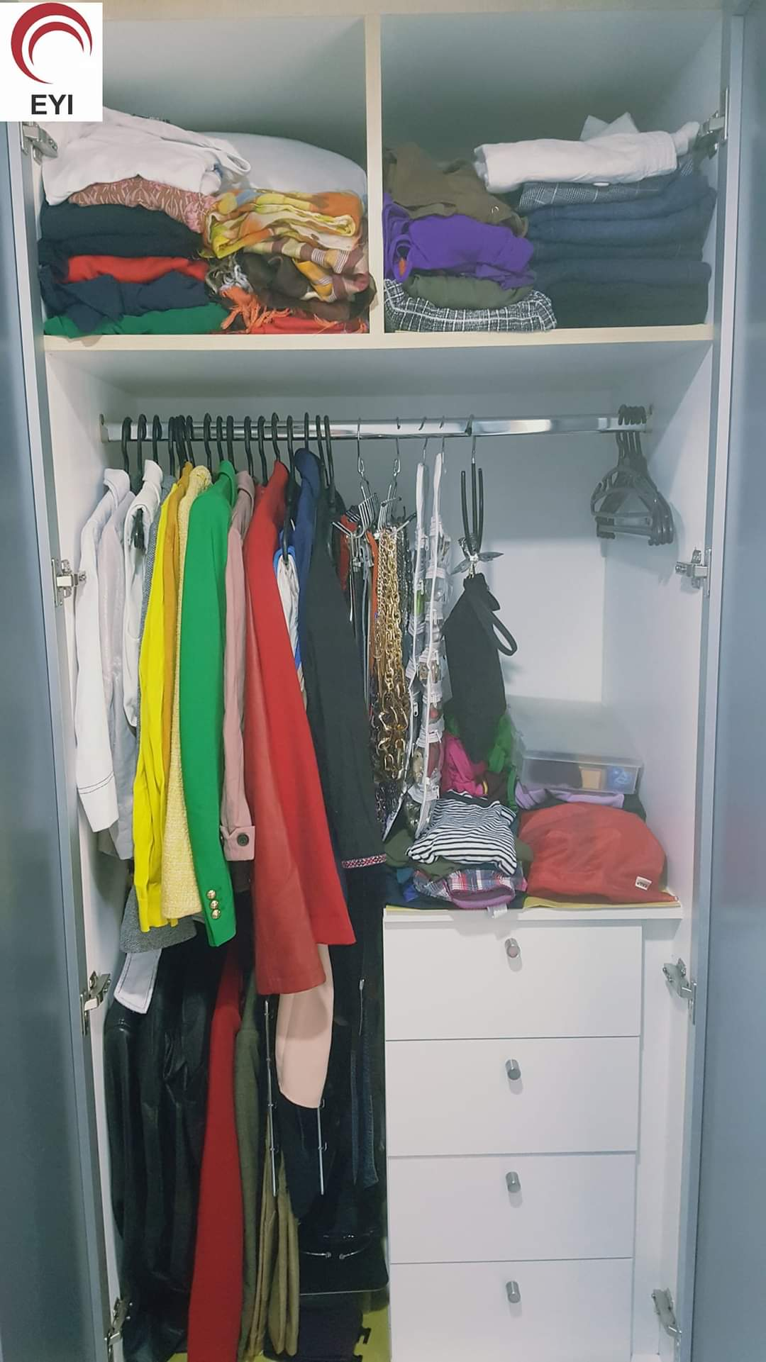 From Walk-In Closet to Compact