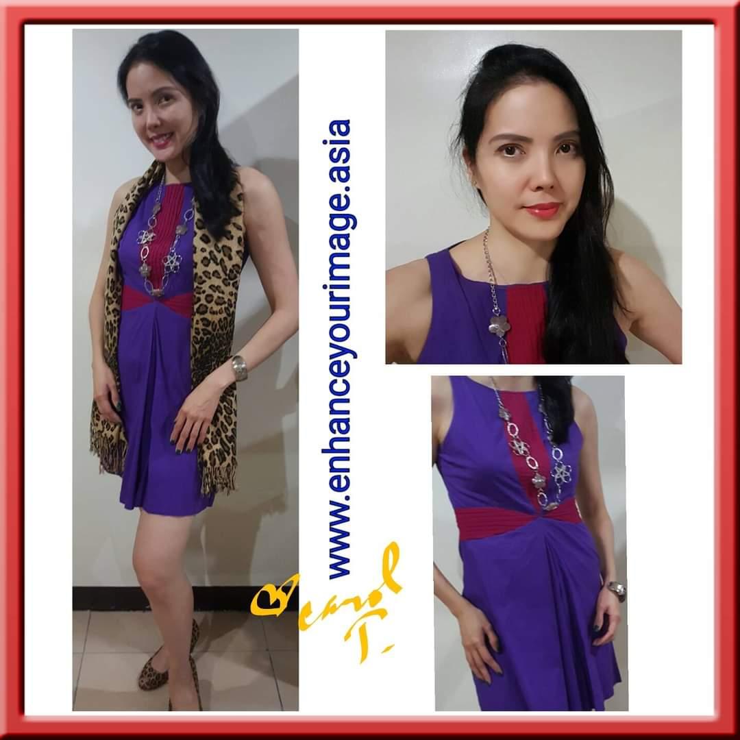 Dress In Color Block