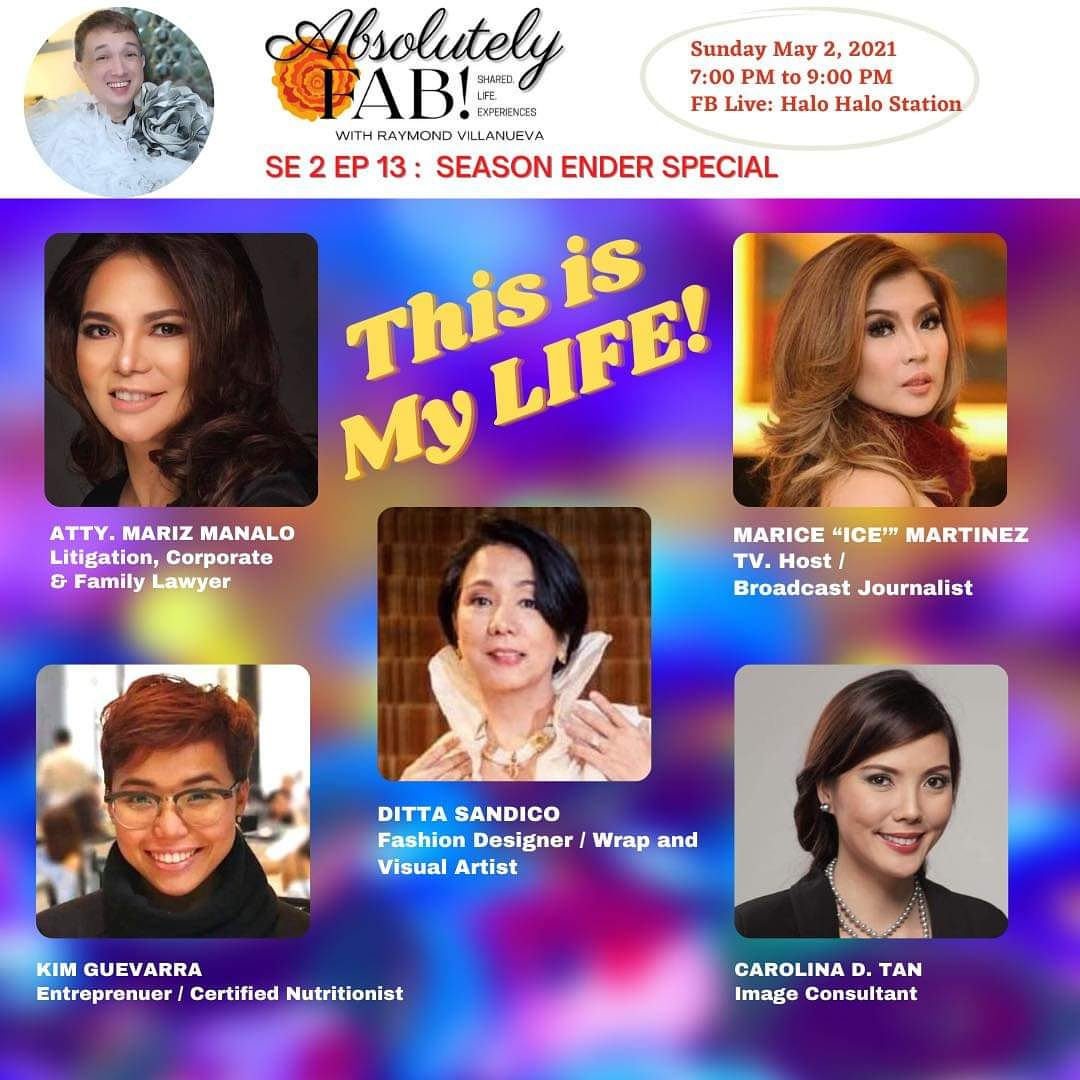 Absolutely FAB! THIS IS MY LIFE Webcast Guesting